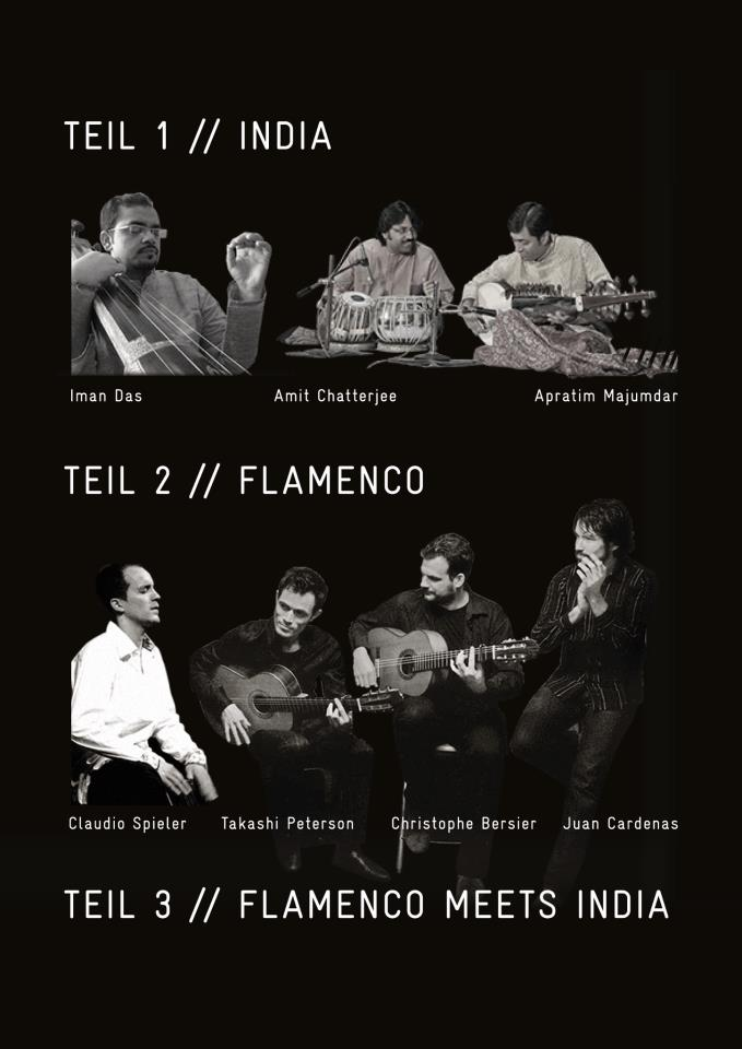 Collaboration with Flamenco at Berlin, 2013