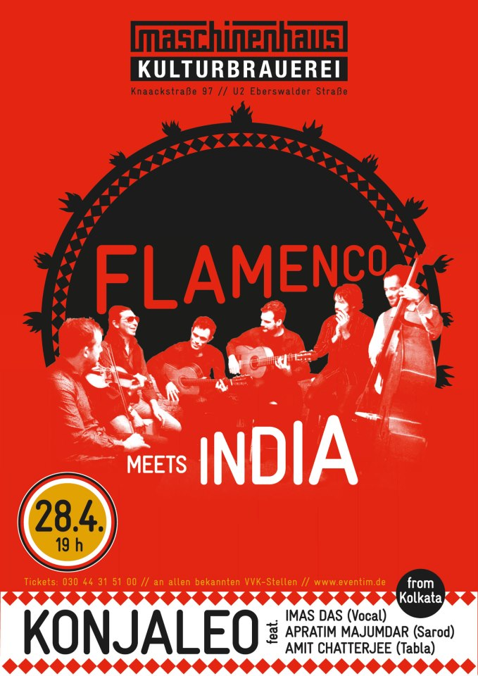 Flamenco Meets India, Berlin , 2013